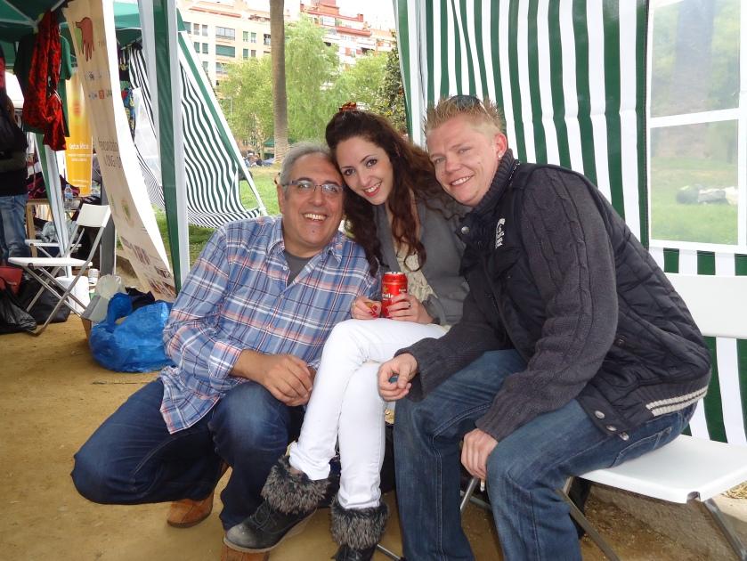 Kimberley, Florian y MIguel Celades